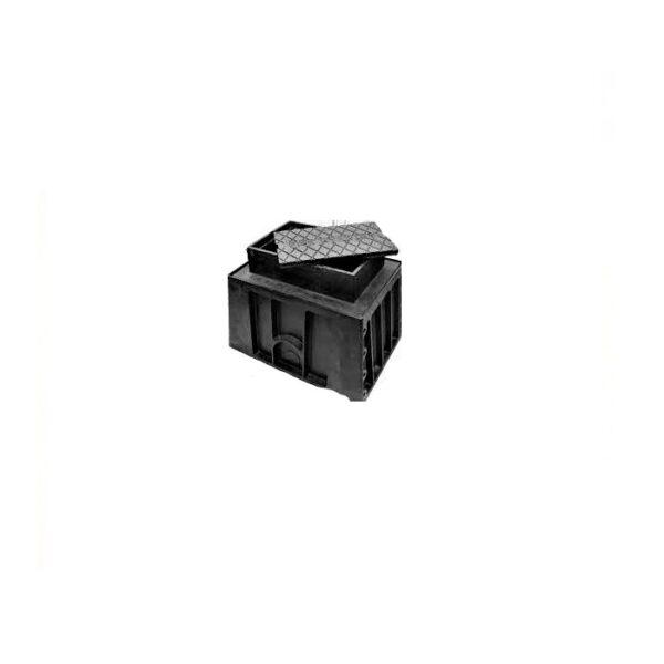 Gas Valve Box Cast Iron 245mm x 190mm
