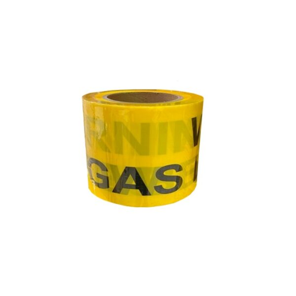 Gas Warning Trench Tape 75mm x 100m