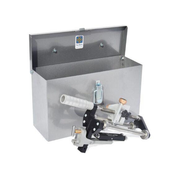 Hy-Ram Steel Storage Box for Prepmaster Multi PE Pipe Peeler