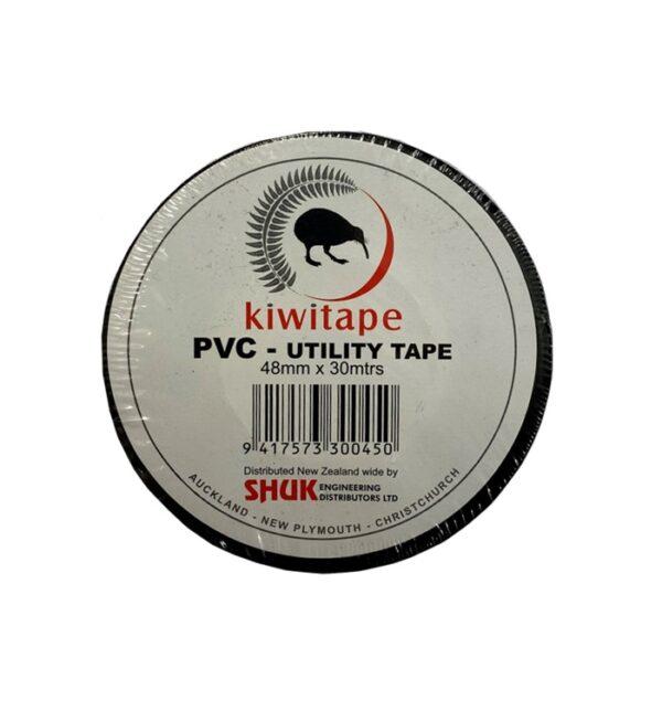 Kiwitape PVC Tape Black 50mm