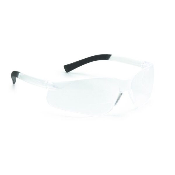 Magspec Bifocal Clear +1 Safety Spec