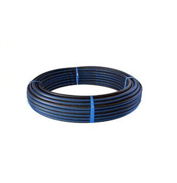 OD PE100 SDR11 PN16 PE Pipe BlackBlue Stripe