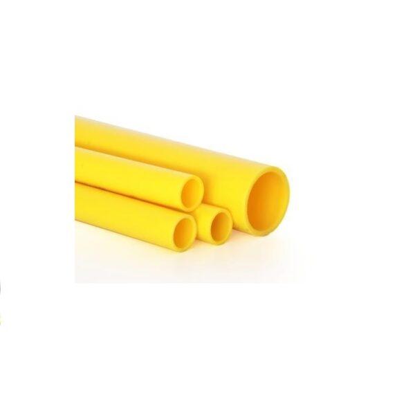 PE80 SDR11 PE Gas Pipe Yellow