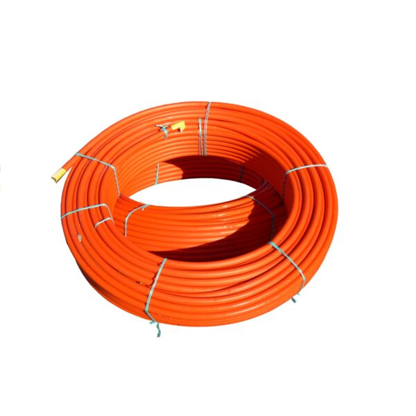 PE80 SDR17 PN10 PE Duct Pipe Orange