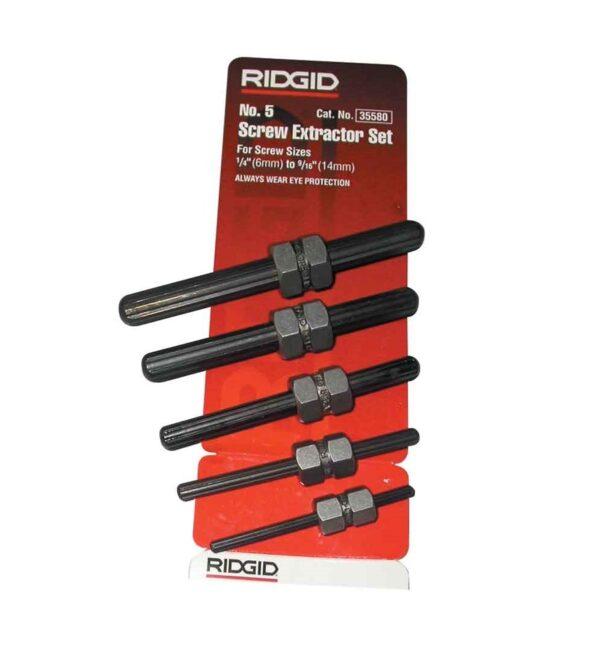Ridgid Screw Extractor Set