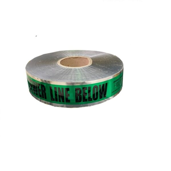 Sewer Detectable Foil Trench Tape 50mm x 300m