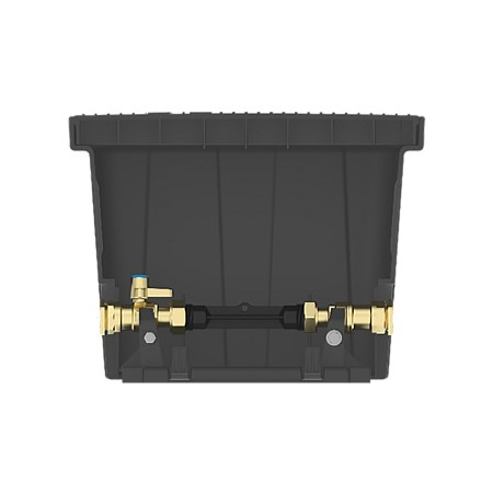 Strongcast Meter Box cw PE Dual CheckPE25 Ball Valve (Kit)