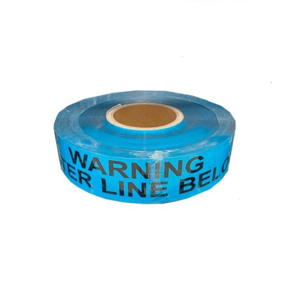 Watermain Detectable Foil Trench Tape 50mm x 300m